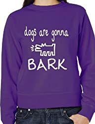 The Janoskians Dogs Gonna Bark Funny Adult Sweatshirt Birthday Gift Size S-XXL