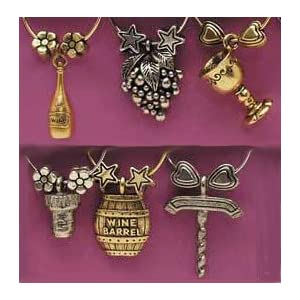 Grapevine Collection that wine is mine! Wine Glass Charms 1409