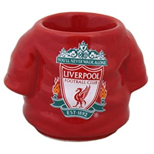 Liverpool Football Club Shirt Shaped Egg Cup - Great Gift Idea