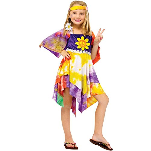Daisy Hippie Girl Kids Costume