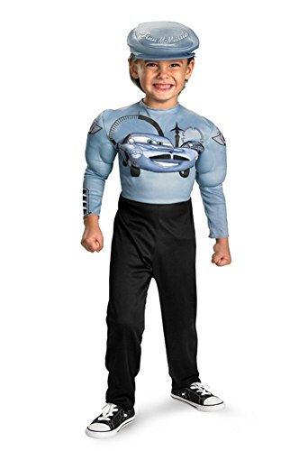 Finn Mcmissile Classic Muscle Costume - Small (4-6) - 1