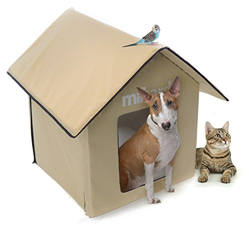 Milliard Outdoor Pet House, Easy Set Up: No Tools, for Dog o