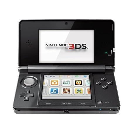 Console Nintendo 3DS - noir cosmos [Importación francesa]