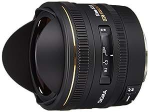 Sigma 10 mm F2,8 EX DC Fisheye HSM-Objektiv (Gelatinefilter) für Canon Objektivbajonett