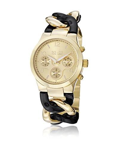 SO&CO Reloj 5013.1 Negro / Dorado