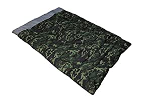 MerMonde(メルモンド) 寝袋 迷彩柄 ツーパーソン ビッグシュラフ 【最低使用温度-15度】 MM-135