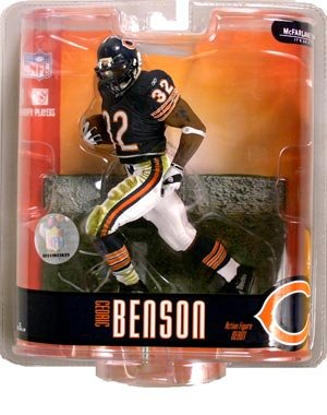 McFarlane Toys Action Figure - NFL Sports Picks Series 15 - CEDRIC BENSON