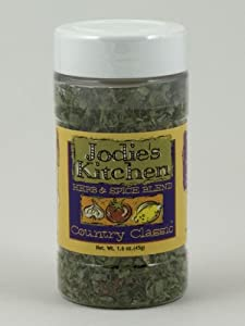 Jodie's Kitchen All Natural MSG Free Herb Spice Blend Country Classic 45 g 1.6 oz by Kitchen Fusions