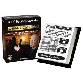Imagination 2009 Desktop Calendar - Deal Or No Deal General Merchandise for Windows
