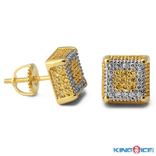 King Ice Iced Lemonade Stud Earrings