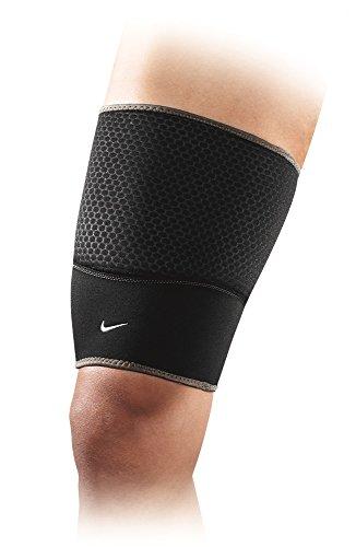 Nike Thigh Sleeve (Black/Dark Charcoal,X-Large)