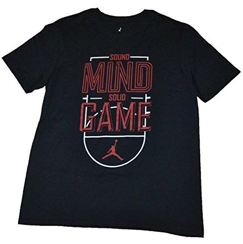 Nike Men's Jordan Jumpman Sound Mind Solid Game Active Shirt, MEDIUM Mind Games T-Shirt