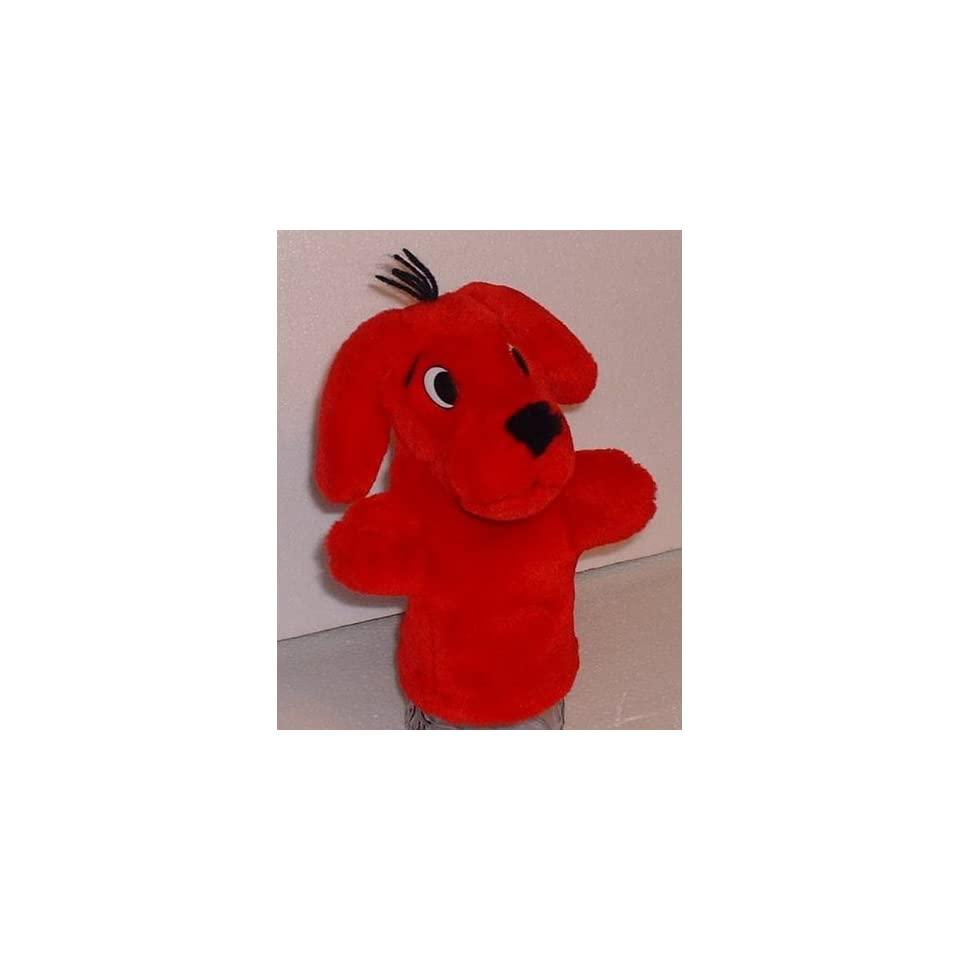 Scholastic Clifford The Big Red Dog Hand Puppet Plush Toy