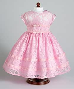 """Vintage Pink Party Dress fits 18"""" American Girl Dolls"""