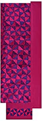 Rangoli Creations Women's Cotton Silk Unstitched Dress Material (Hot Pink)