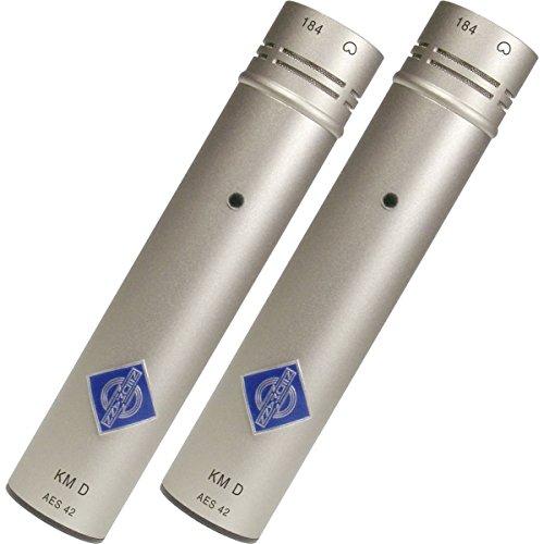 Neumann Km 184 D Stereo Set | Km D Cardioid Digital Microphone Set Nickel