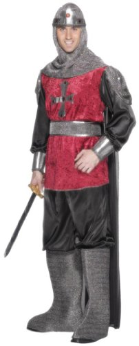 Smiffy's Men's Medieval Knight Costume Tunic