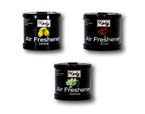 Auto Car Winner Kedy Lemon , Rose & Jasmine Combo Air Fresheners
