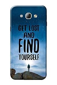 Samsung Galaxy A8 Designer Cover Kanvas Cases Premium Quality 3D Printed Lightweight Slim Matte Finish Hard Back Case for Samsung Galaxy A8