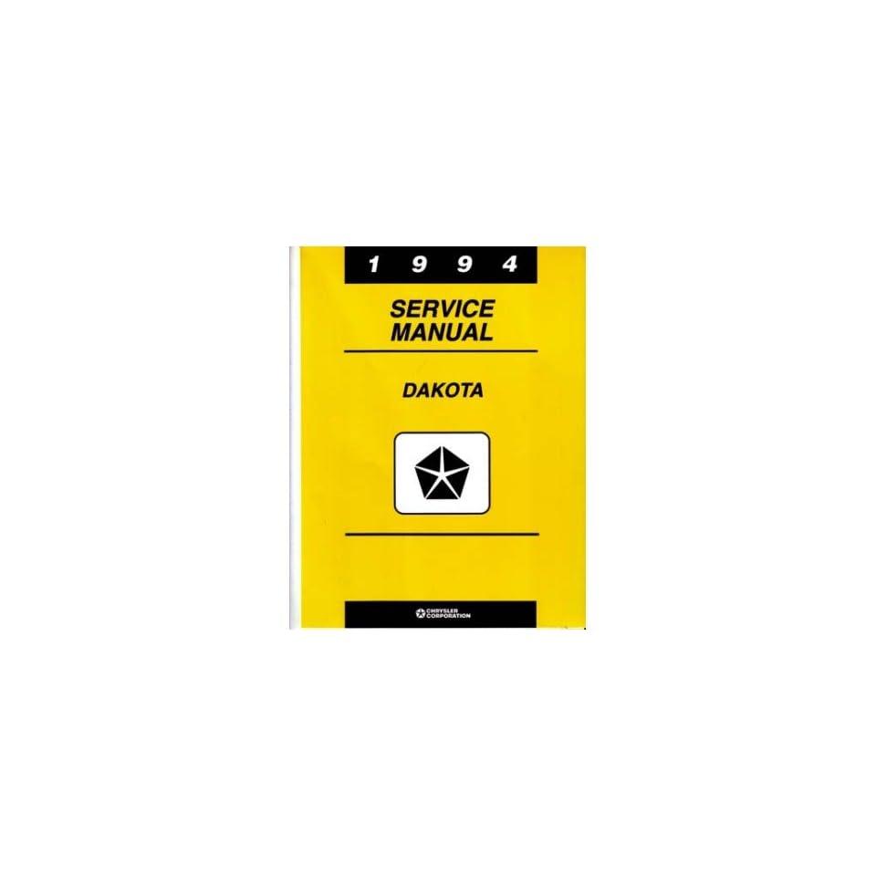 1994 Dodge Dakota Truck Shop Service Repair Manual Book Engine Drivetrain OEM