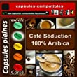 100 capsules compatibles Nespresso� S�duction