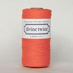 Solid Orange Divine Twine