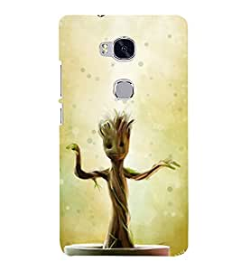 printtech Guardians Sapling Tree Back Case Cover for Hwawei Honor 5X