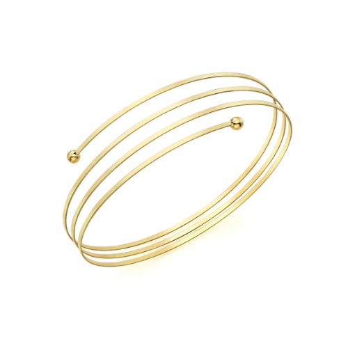 9ct Yellow Gold Spring Bangle