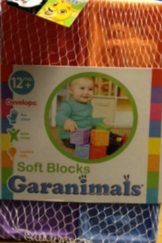 Garanimals Soft Blocks