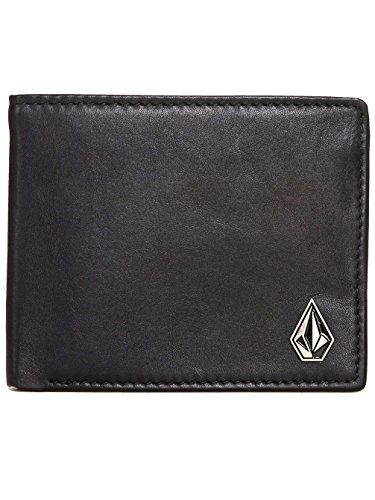 Portafoglio in pelle Volcom con CC, nota e Coin ~ Slimstone Premium