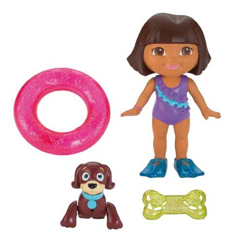 Fisher-Price Swimming Dora And Perrito front-111028