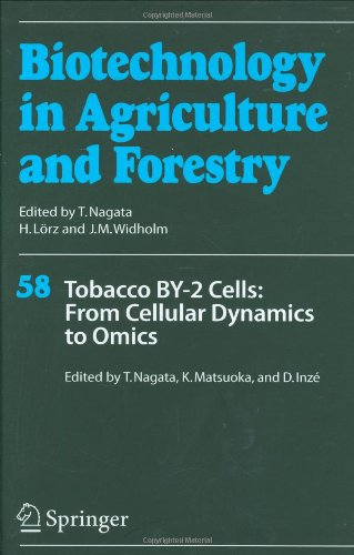 Tobacco BY-2 Cells: From Cellular Dynamics to Omics (Biotechnology in Agriculture and Forestry)