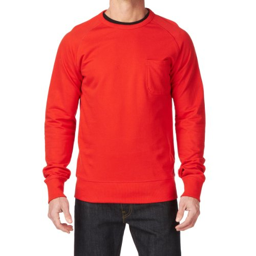 Jack & Jones Core Crew Men's Jumper Fiery Red Small
