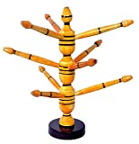 Genius Bird Wooden Yellow Bangle Stand