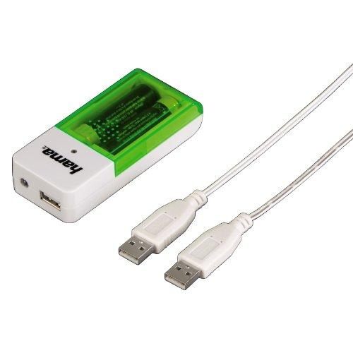 Hama USB-3800 Chargeur de batterie