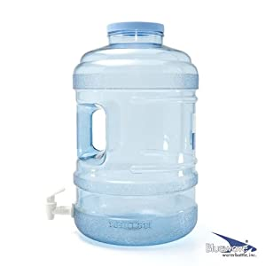Bluewave 5 Gallon BPA Free Water Bottle with 120mm Big-Mouth & Dispensing Valve by Bluewave Lifestyle®