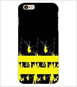PrintDhaba Yellow Spots D-1119 Back Case Cover for APPLE IPHONE 6 PLUS (Multi-Coloured)