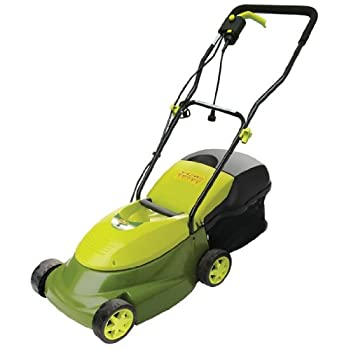 Care for small yards with the Mow Joe MJ401E, a compact and easy-to-operate lawn mower. Featuring the power of a gas machine in the convenience of an electric unit, this mower has a 12 amp motor and a durable blade that cuts a 14-inch-wide path.A com...