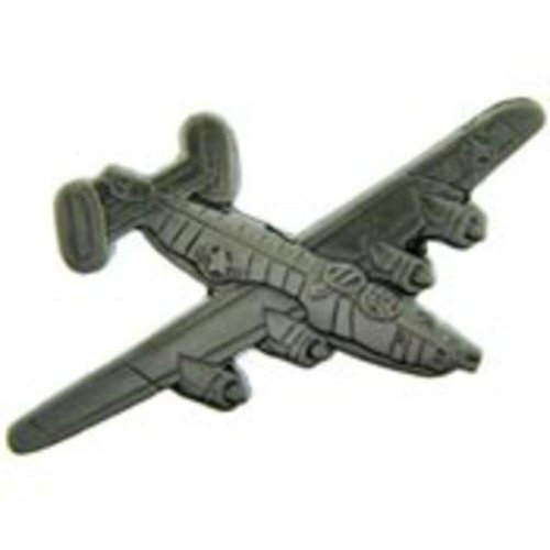 B-24 Liberator Airplane Pin Pewter 2 1/2