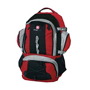 Amazon Com Swiss Gear Internal Frame Backpack Red