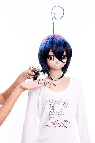 Imagen 2 de CosplayerWorld Blue Exorcist Mephisto Pheles Peluca Cosplay Anime Japones De Descuento 34cm 13inch Accesorios Cosplay
