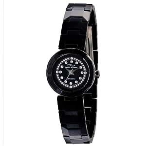 Daniel Steiger Women's 9009-L LBD Little Black Dress Solid Ceramic Watch