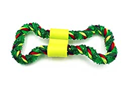 Petony Dental Rope and Gum combined Textured Durable Teething Dog Tug Toy Chew Toy
