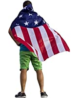 FreedomCapes American Flag Cape