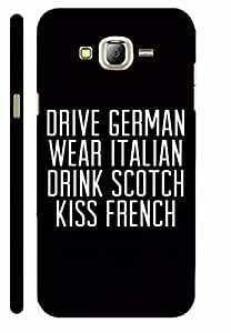 KALAKAAR Printed Back Cover for Samsung Galaxy J3,Hard,HD Matte Quality,Lifetime Print Warrenty