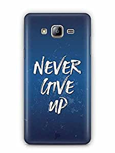 YuBingo Never Give Up Designer Mobile Case Back Cover for Samsung Galaxy On 5