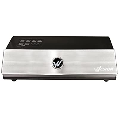 Weston Products 65-0501-W Weston Brands Vacuum Sealer, Silver from Weston Products