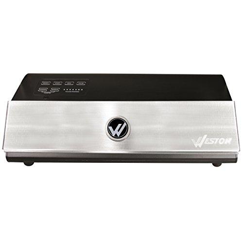 Weston Products 65-0501-W Weston Brands Vacuum Sealer, Silver