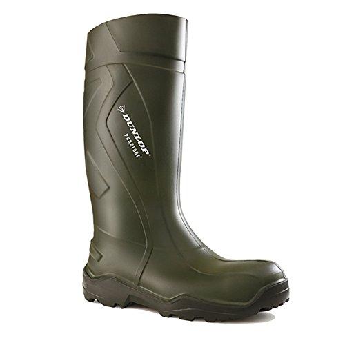 Stivali da lavoro Dunlop Purofort + piena sicurezza verde scuro / nero, S5 - 42 - C762933