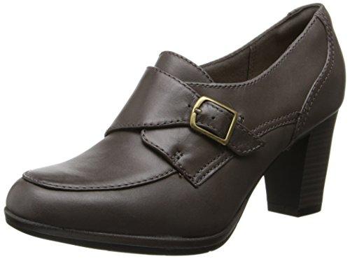 Clarks Women's Brynn Poppy Slip-On Loafer,Grey,8 M US